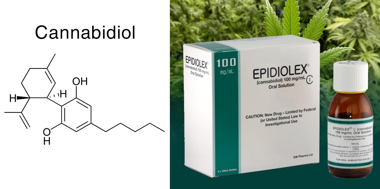 Thuốc điều trị động kinh Epidiolex chiết xuất từ cần sa